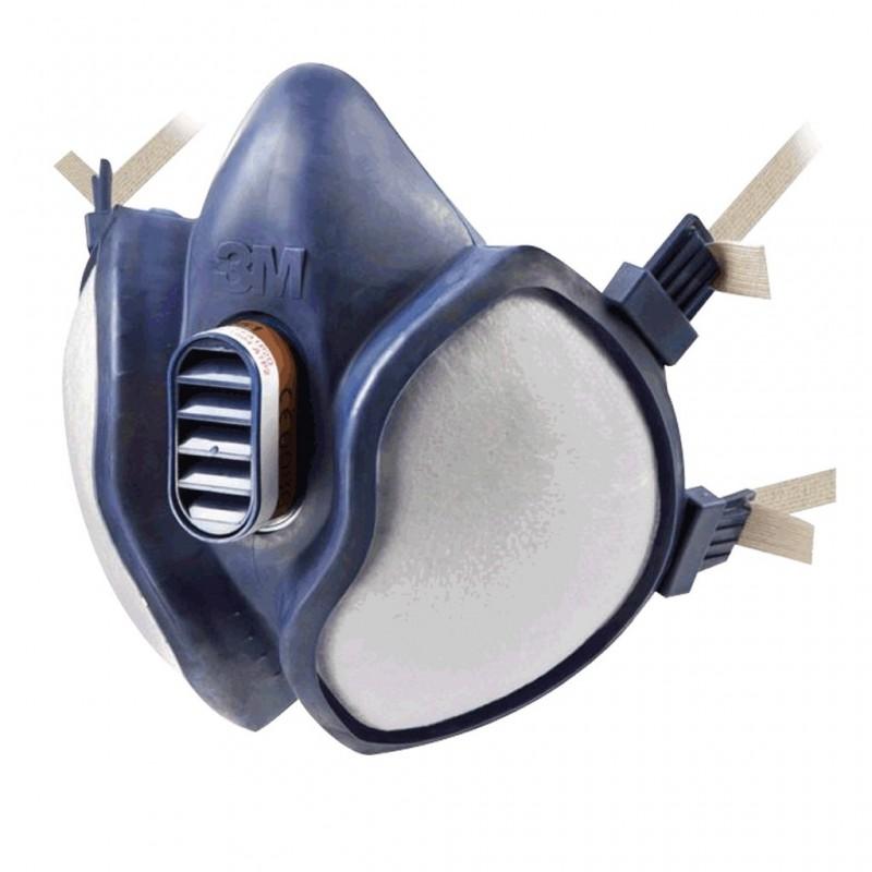 Masque 3M anti vapeurs de solvants