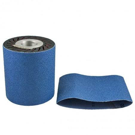 Manchon rouleau abrasif bleu