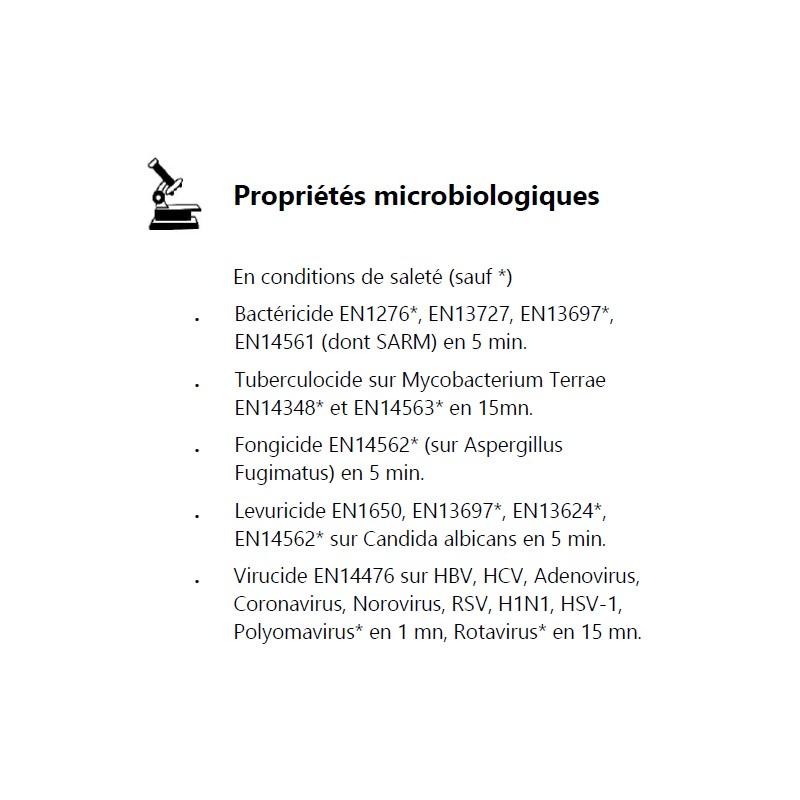 Lingettes Sterimed biodégradables